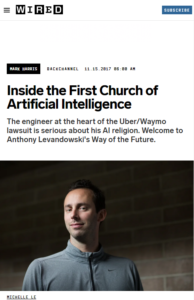 First Church of AI